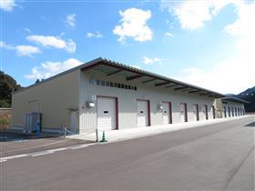 上堅田上城地区防災備蓄倉庫外観