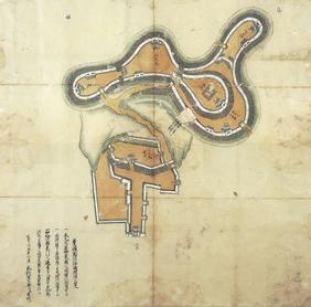 豊後国佐伯城破損之覚(延享2・1745年)