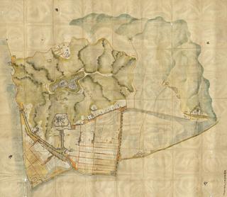 御城并御城下絵図(元文3・1738年)